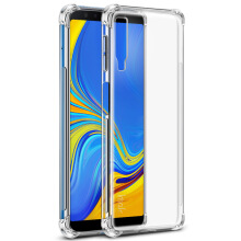 Tokomuda Anti Crack Anti Shock Softcase Casing Clear for Samsung Galaxy A7 (2018) 6.0 Inch TRANSPARENT