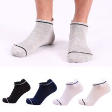 SESIBI 5Pairs Male Socks Leisure Sports Low to Help Men Socks Sport Socks Exercise Outdoor Ankle Socks -One Size - Randomly Color