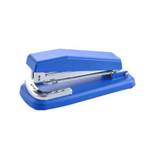 Jantens Construction Portable Stapler Medium Sized Rotatable 90 Degree Fashion Stapler Blue