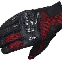 KOMINE GK-197 Carbon Protect 3DM Original Sarung Tangan - Red Camo