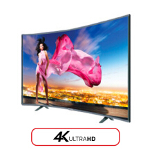 ICHIKO LED TV 49 Inch Curved 4K UHD - S4998