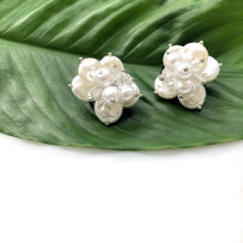 VASELLA OFFICIAL Earrings Amore - White