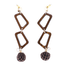 VOITTO Earrings - V34 Tartan red