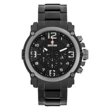 Expedition E 6605 MC BEPBA Chronograph Men Black Dial Black Stainless Steel Strap [EXF-6605-MCBEPBA]
