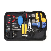 21PCS Professional Watch Repair Tool Kit Magnifier Set With Storage Bag Multicolor