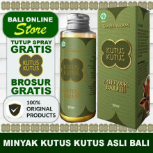 Minyak Kutus Kutus Organic Herbal Healing Oil - 100ml
