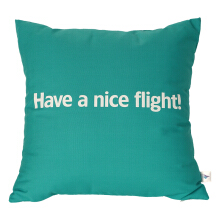 GARUDA Pillow Cushion - Turquoise (Tosca)