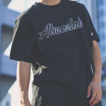 Champion x Atmoslab Tee - Black