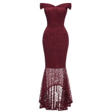 Xi Diao Sexy Lace Mermaid Women Dress