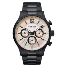 Police Feral PL.15302JSB/07M Chronograph Men Beige Dial Black Stainless Steel Watch [PL.15302JSB/07M]