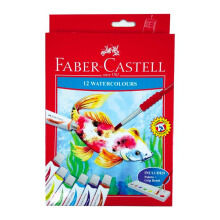 FABER-CASTELL 121004N Watercolors set-12