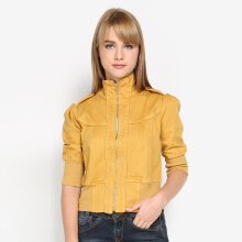 Mobile Power Ladies Bolero Jacket - Yellow B7180