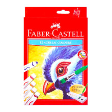 FABER-CASTELL 572312 Acrylic Colors set-12