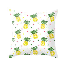 Farfi Pineapple Leaf Yellow Pillow Case