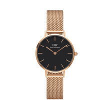 Daniel Wellington Classic Petite Melrose Black - Gold [B28R1] - 28mm