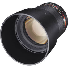 Samyang 85mm f/1.4 Aspherical Lens for Canon - Black