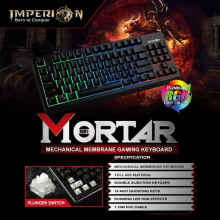 Keyboard Gaming Imperion Mortar KG-MM1 mechanical Membrane, RGB