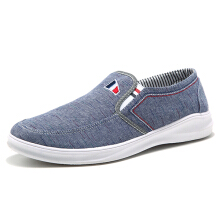 Zanzea Men Breathable Cloth Slip On Casual Flats Sneakers