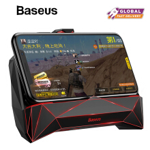 Baseus Game Joystick Holder Stand For iPhone X Xs Max XR Samsung S9 Xiaomi Handphone Joystick Case Game Controller Handle Holder - Black