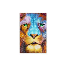 [COZIME] DIY 5D Diamond Lion Shining Drill Painting Embroidery Cross Stitch Decor Craft multicolor