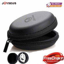 JOYSEUS Earphone Holder Case Storage Carrying Hard Bag Box Case For Earphone Headphone Accessories Earbuds memory Card USB Cable Black