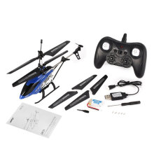 [kingstore] JR/C JX01 Gyro Metal 2.4G 3CH RC Drone Mini Helicopter Toys Gift RTF Blue