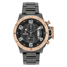 Expedition E 6750 MC BGRBU Chronograph Men Black Dial Black Stainless Steel Strap [EXF-6750-MCBGRBU]