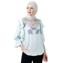 RIA MIRANDA Towny Top Blue
