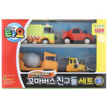 Tayo The Little Bus 4 Style Mini Cars Set 3 Original - Iconix