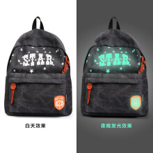 KENESS Korean casual backpack tide card student bag male fashion female backpack