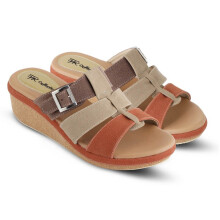 WEDGES KASUAL WANITA - JTI 4021
