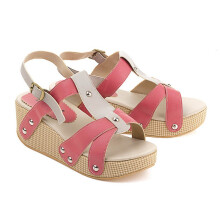 WEDGES KASUAL WANITA - LCC 472