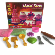 Bless Toys Mainan Anak Pasir Ajaib Magic Sand OCT9002 Multicolor