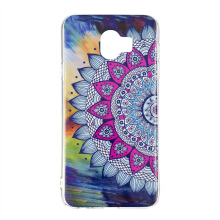 MOONMINI Samsung Galaxy J6 2018 Back Case Luminous Noctilucent Glow in the Dark TPU Shell Case Protective Phone Cover   Mandala