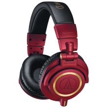 Audio Technica ATH-M50X Monitoring Headphone Limited Edition Red
