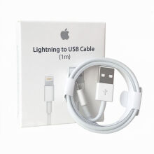 iPhone 6plus/ 6s plus Apple original data cable White White 1 m
