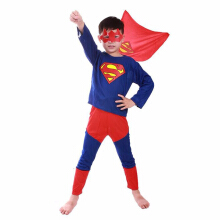 SESIBI Supermen Spidermen Cosplay Clothes Kids Party Costume -OneSize -