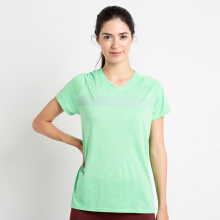 Corenation Active Short Sleeve Kane Top - Hijau Green L