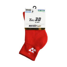 YONEX Match Plus Men's Socks 1/2 Regular - Red [Pair] SSMP 1055S-SR CO
