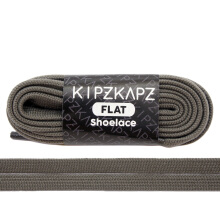 KIPZKAPZ FS69 Flat Shoelace - Taupe Brown [8mm]
