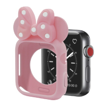 TokoAccBoss Silicon for Apple Watch MINNIE KITTY 42mm Series 1/2/3