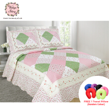 VINTAGE STORY Shabby Bed Cover Set Korea Size King 220x240 cm/P21