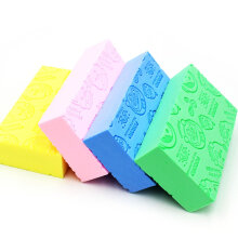 [OUTAD] Children Baby Body Cleaning Shower Wash Sponge Exfoliating Tool Multicolor