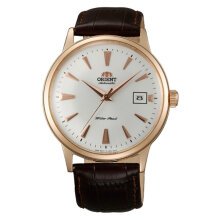 Orient Bambino FAC00002W Automatic White Dial Brown Leather Strap [FAC00002W]