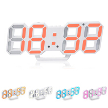 JDWonderfulHouse Loskii HC-28 Creative USB Charging 3D Digits Display Adjustable Brightness Alarm Clock