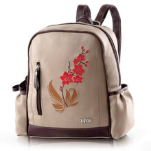 INFICLO - TAS RANSEL / BACKPACK KASUAL WANITA - SAP 535  - BROWN
