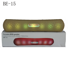[free ongkir]MODEL.BE-15 Metal Bluetooth Speker/PORTABLE MINI SPEAKER Light Brown