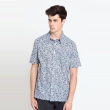 A&D MS 1256 Batik Short Sleeve - Blue