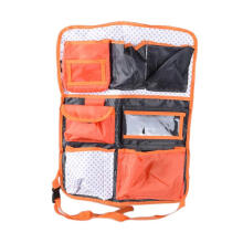 JMS - 1 Pcs Car Seat Organizer / Tas Mobil Multifungsi Model 41301BGABBKD Warna Orange