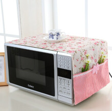 Vintage Story - Penutup Cover Microwave Oven Shabby 32x98cm